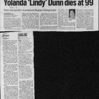 20170330-Yolanda 'Lindy' Dunn dies0001.PDF