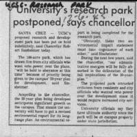 CF-20191204-University's research park postponed s0001.PDF
