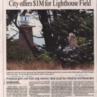CF-20180809-City offers $1M for Lighthouse field0001.PDF