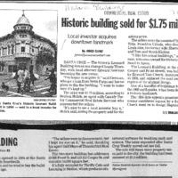 CF-20180920-Historic building sold for $1.75 milli0001.PDF