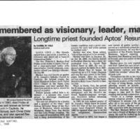 20170507-Markey remembered as visionary0001.PDF