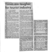 CF-20190606-Times are tougher for tourist industry0001.PDF