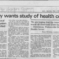 CF-20180513-County wants study of health center0001.PDF