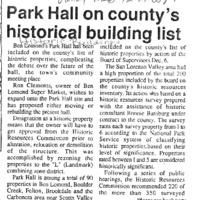 CF-20180919-Park hall on county's historical build0001.PDF