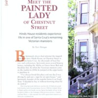 Meet the Painted Lady of Chestnut Street: Hinds House residents experience life in one of Santa Cruz's remaining Victorian mansions