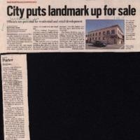 CF-20190815-City puts landmark up for sale0001.PDF