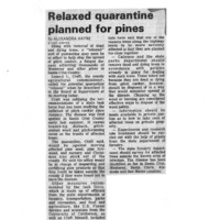 20170608-Relaxed quartine planned for pines0001.PDF