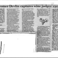 CF-20190602-Newcomer Devlin captures wine judges' 0001.PDF