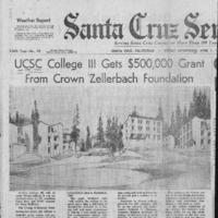 CF-20190613-UCSC College III gets $500,000 grant f0001.PDF