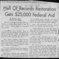CF-20200626-Hall of records restoration gets $25,00001.PDF