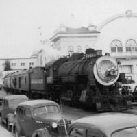 Southern Pacific's Number 2520 on Beach Street