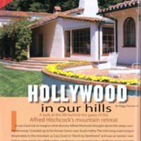 Hollywood in our hills: A look at the life behind the gates of Alfred Hitchcock's mountain retreat